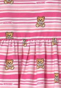 MOSCHINO - SET - Jersey dress - pink - 3