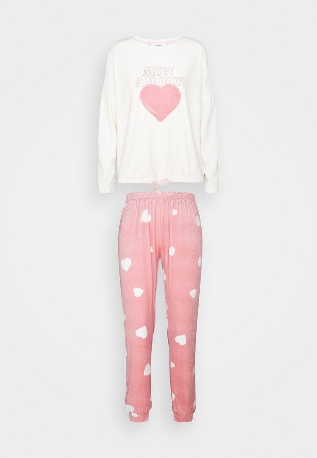 SET - Pyžamo - almond