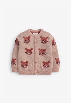 LEOPARD POM  - Cardigan - pink