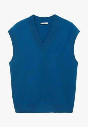 AZULEJOV - Stickad tröja - bleu encre