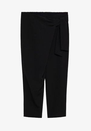 MOROCO - Trousers - schwarz