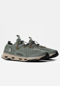 The North Face - M SKAGIT WATER SHOE - Trainers - agave green/militaryolive - 1
