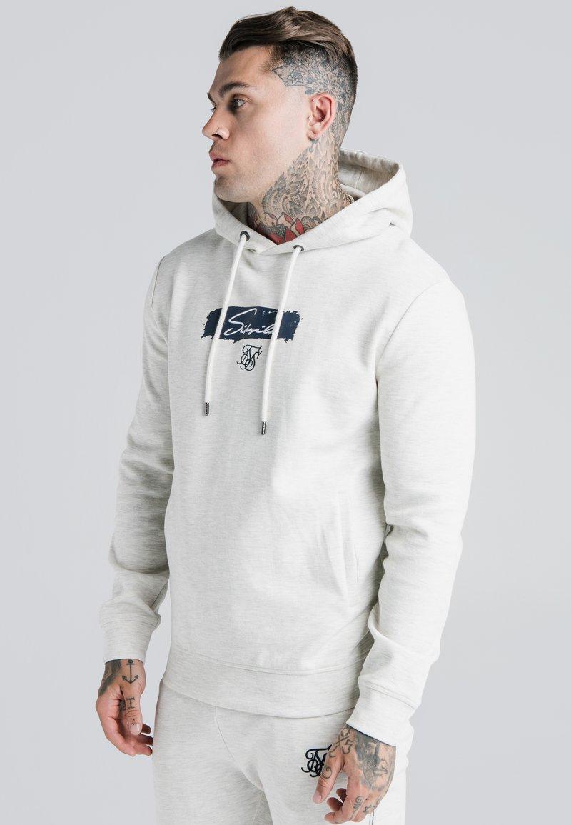 SIKSILK - OVERHEAD HOODIE - Sweatshirt - light grey