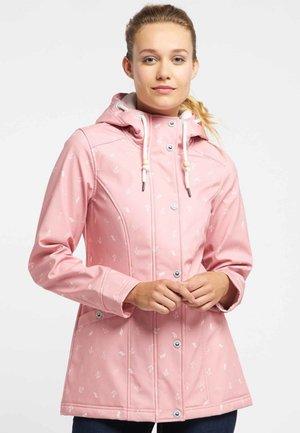 Waterproof jacket - light pink