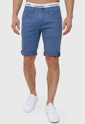 VILLEURBANNE - Short en jean - china blue