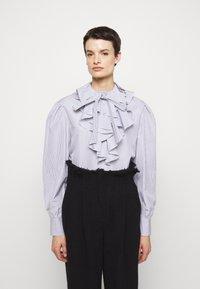 Alberta Ferretti - CAMICIA - Long sleeved top - white - 0