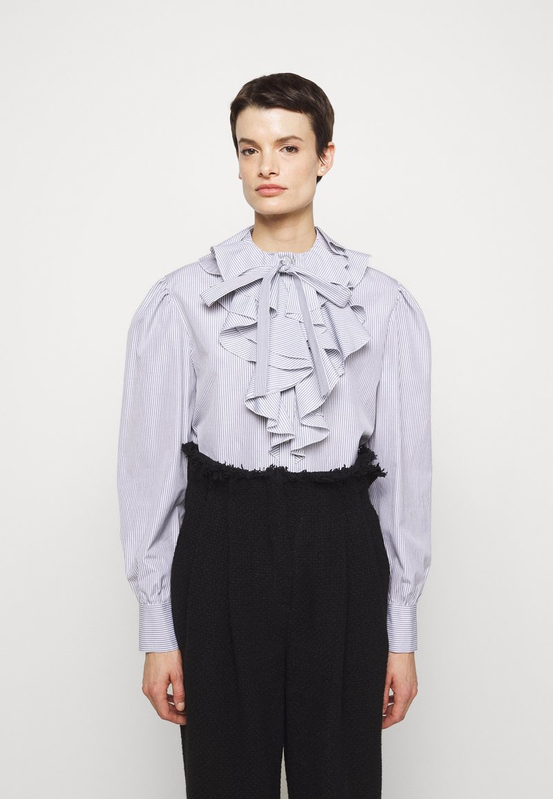 Alberta Ferretti - CAMICIA - Long sleeved top - white
