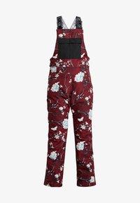 Rojo - SNOW DAY BIB - Pantaloni da neve - red - 5