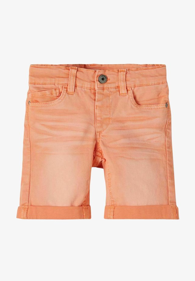 Shorts di jeans - melon