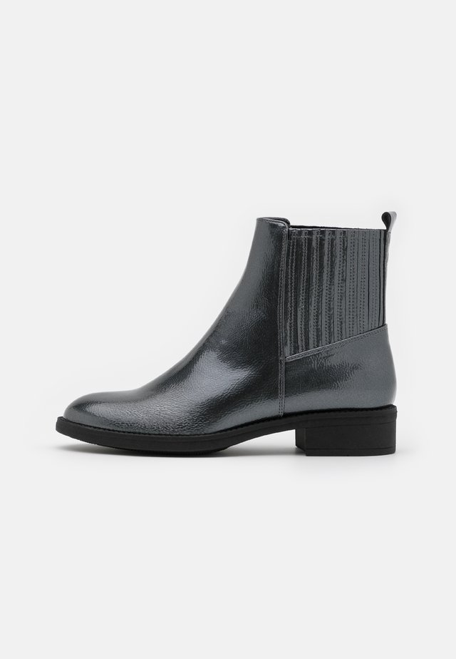 Classic ankle boots - gunmetal