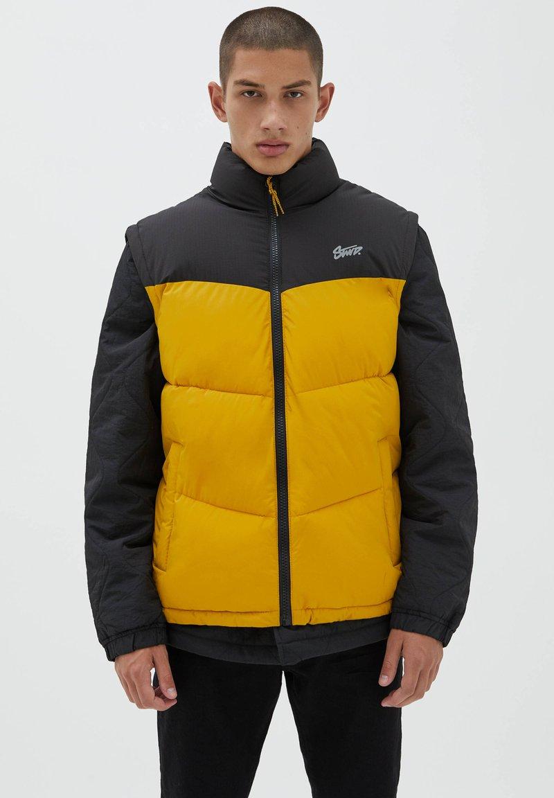 PULL&BEAR - Waistcoat - yellow