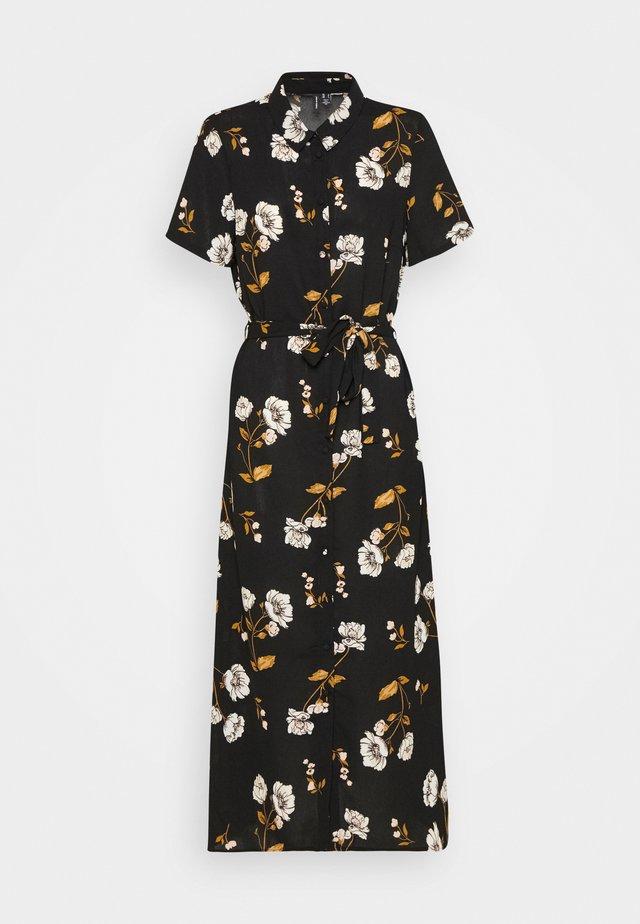 VMMELLIE SINGLET SHORT DRESS - Maxi-jurk - black/mellie