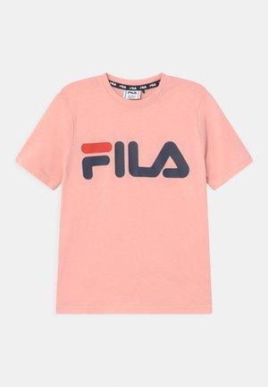 GAIA CLASSIC LOGO UNISEX - T-shirt print - coral blush