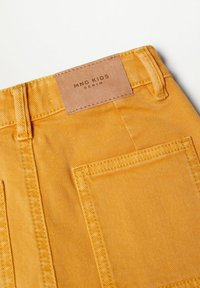 Mango - CULOTTEC - Jeans Straight Leg - moutarde - 2