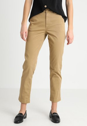 SLIMBOY - Trousers - honey brown