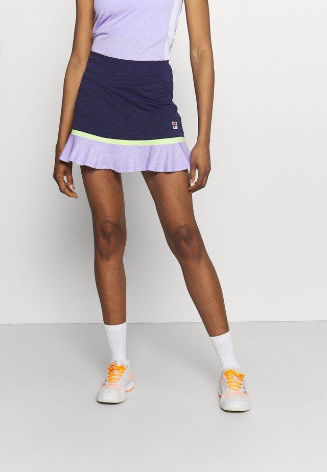 SKORT SELINA - Sportovní sukně - peacot melange