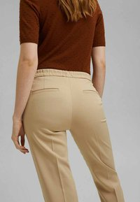 Esprit Collection - Trousers - sand - 6
