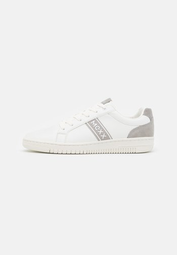 GETANO - Sneakersy niskie - white