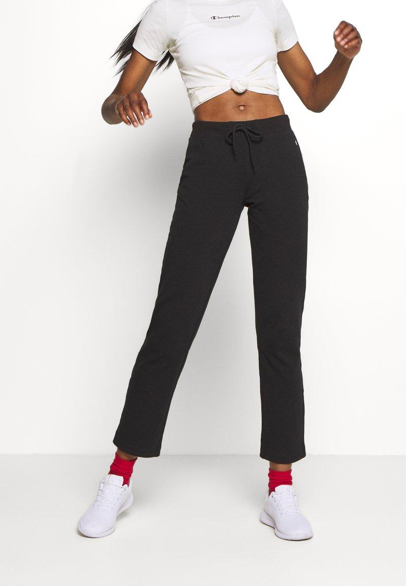 Champion - DRAWSTRING PANTS LEGACY - Pantaloni sportivi - black