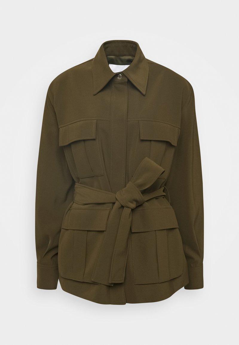 Samsøe Samsøe - CITRINE - Summer jacket - dark olive