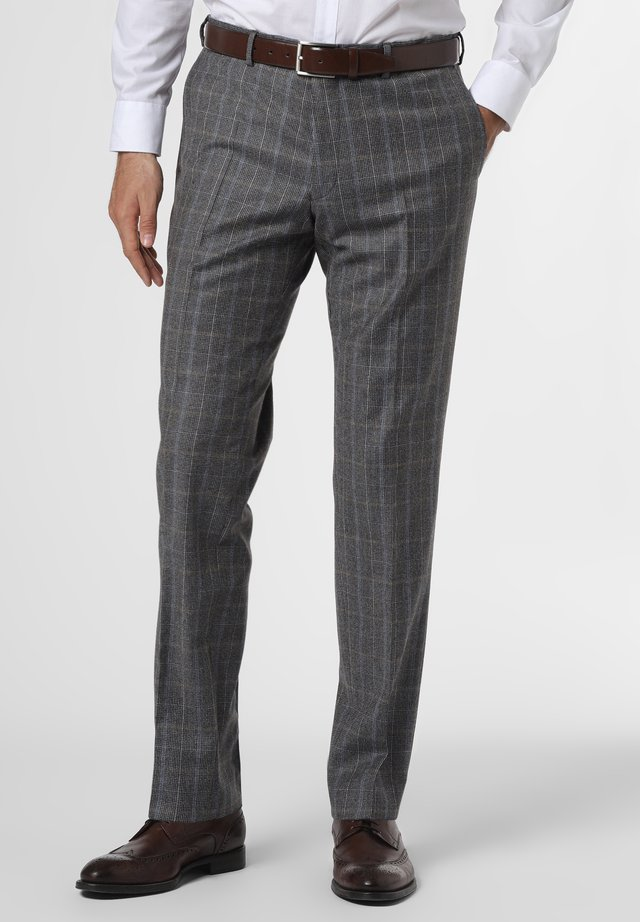 Trousers - grau blau
