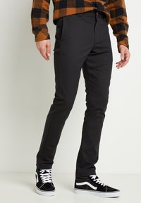 Dickies - SLIM SKINNY WORK PANT - Chino - black - 3