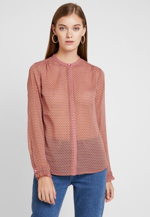 RACHEL PRINT - Button-down blouse - blazing grid