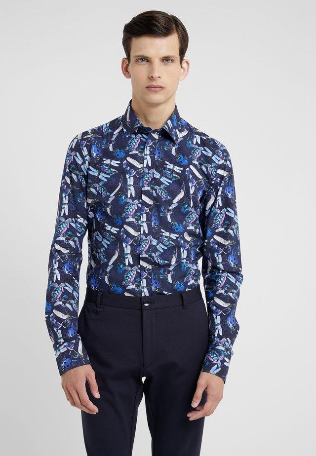 IVER SLIM FIT - Shirt - dark blue