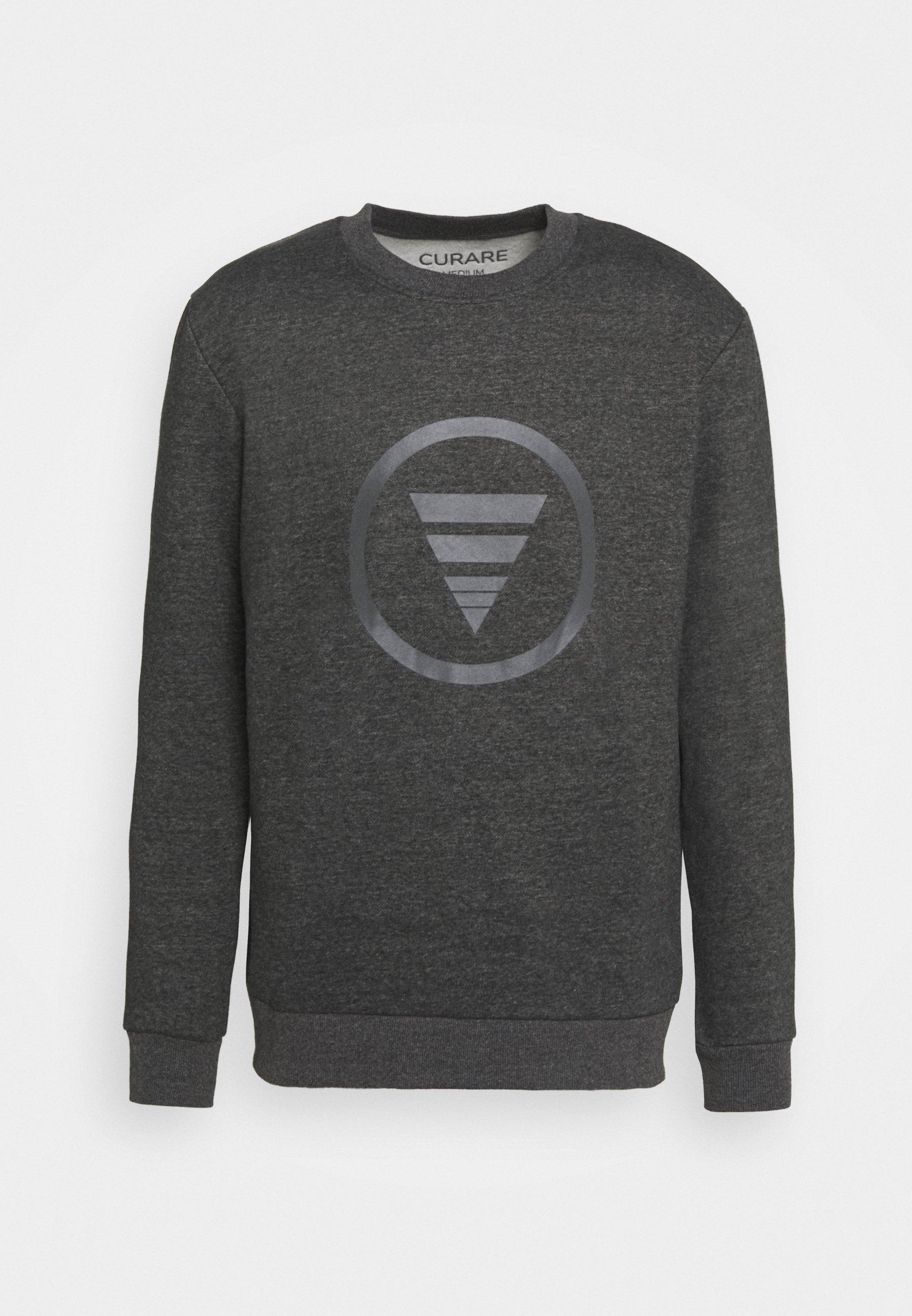 Men ROUND NECK  CHEST PRINT - Sweatshirt