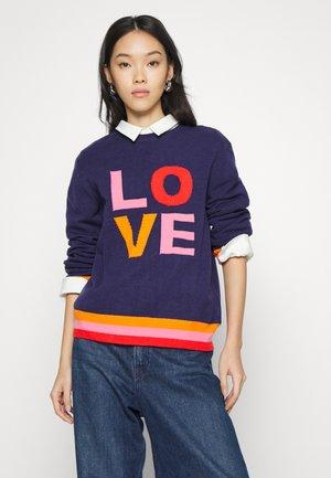 LOVE - Jumper - navy