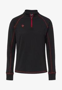 IZAS - GORNER - T-shirt à manches longues - black red - 0