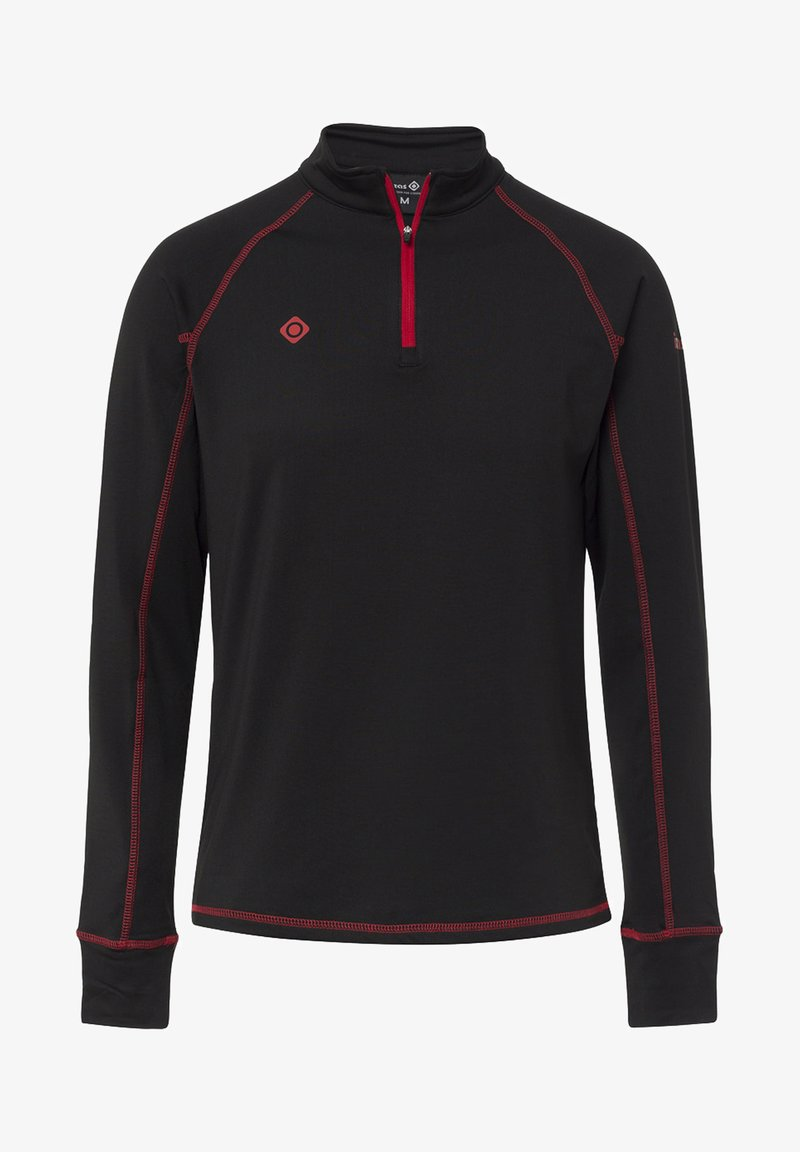 IZAS - GORNER - T-shirt à manches longues - black red