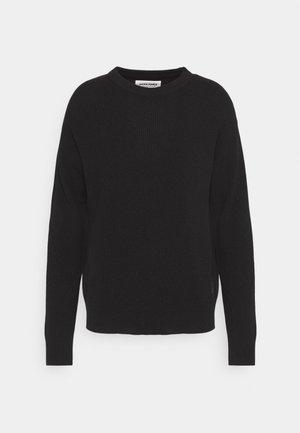 JORJORDAN CREW NECK - Stickad tröja - black