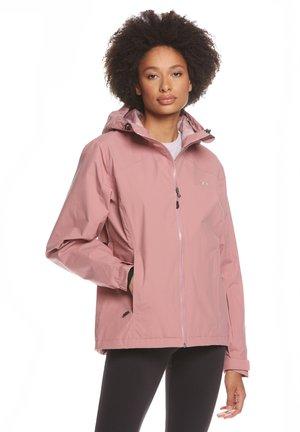 CLARA - Waterproof jacket - longing rose