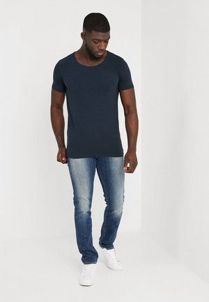2 PACK - Basic T-shirt - deep navy
