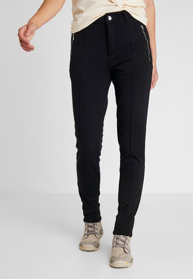 JOROINEN - Spodnie materiałowe - black