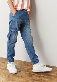 Next - Relaxed fit jeans - light-blue denim - 1