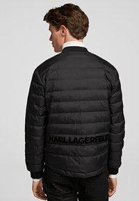 KARL LAGERFELD - Winter jacket - black - 2