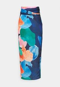 Never Fully Dressed Tall - ARTIST PRINT JASPRE SKIRT - Kietaisuhame - navy/multi - 1