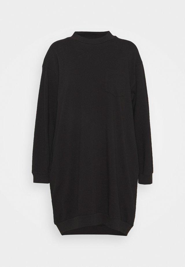 DRESS - Žerzejové šaty - true black