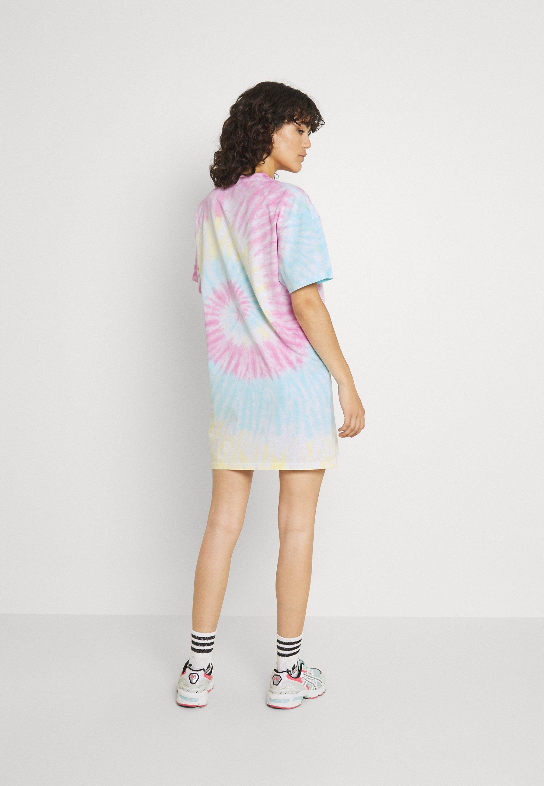 Women TIE DYE TEE - Jersey dress