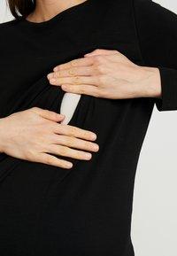 Boob - GRACE DRESS - Žerzejové šaty - black - 5