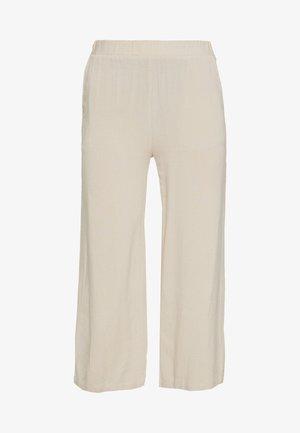 NONA CULOTTE - Trousers - beige