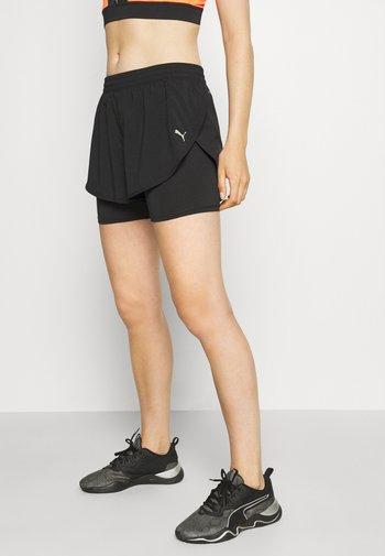 RUN SHORT - Sports shorts - black
