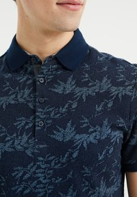 WE Fashion - WE FASHION HEREN POLO MET DESSIN - Poloshirt - blue - 3
