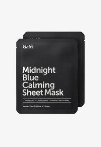 klairs - MIDNIGHT BLUE CALMING MASK 25ML 2 MASK PACK - Face mask - - - 0
