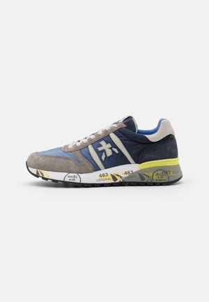 LANDER - Trainers - dark blue/grey