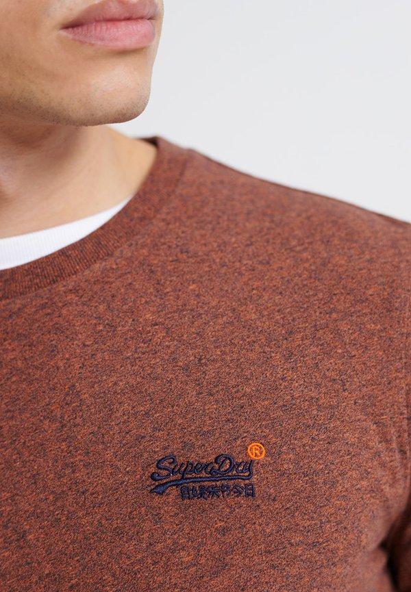 Superdry OL VINTAGE EMB - Bluzka z długim rękawem - desert orange grit/pomarańczowy Odzież Męska XYTG