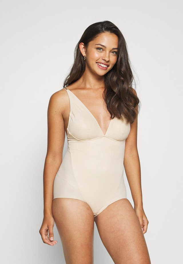 EASY GLIDE ON AND OFF LOW BACK COOL COMFORT - Baddräkt - nude