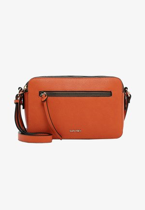 NETTY - Across body bag - orange